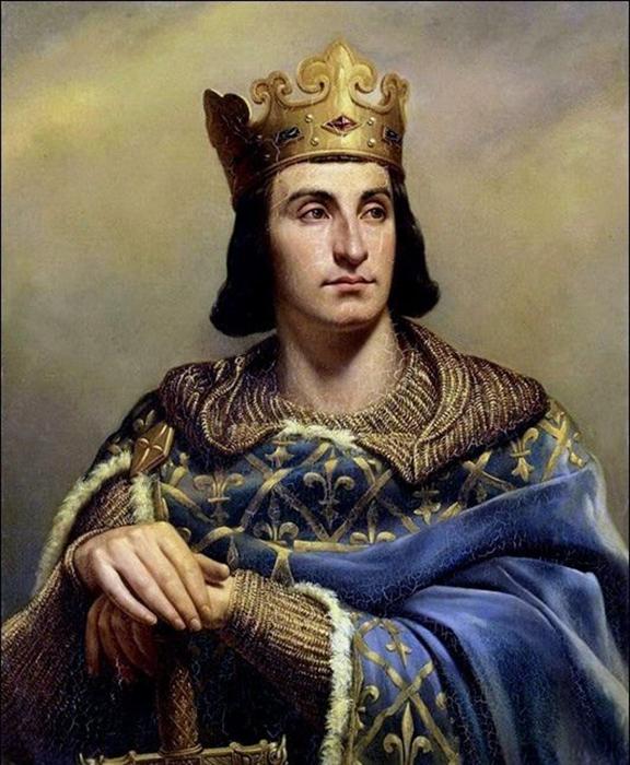 Король Франции Филипп II.