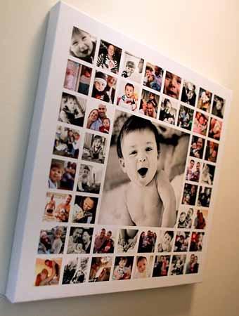 Размещение семейных фотографий
