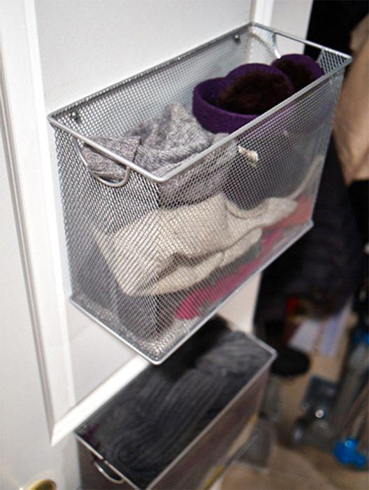 Корзины для хранения носков