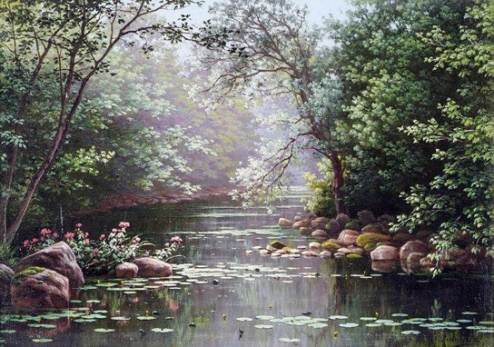 художник René Charles Edmond His картины -2-05