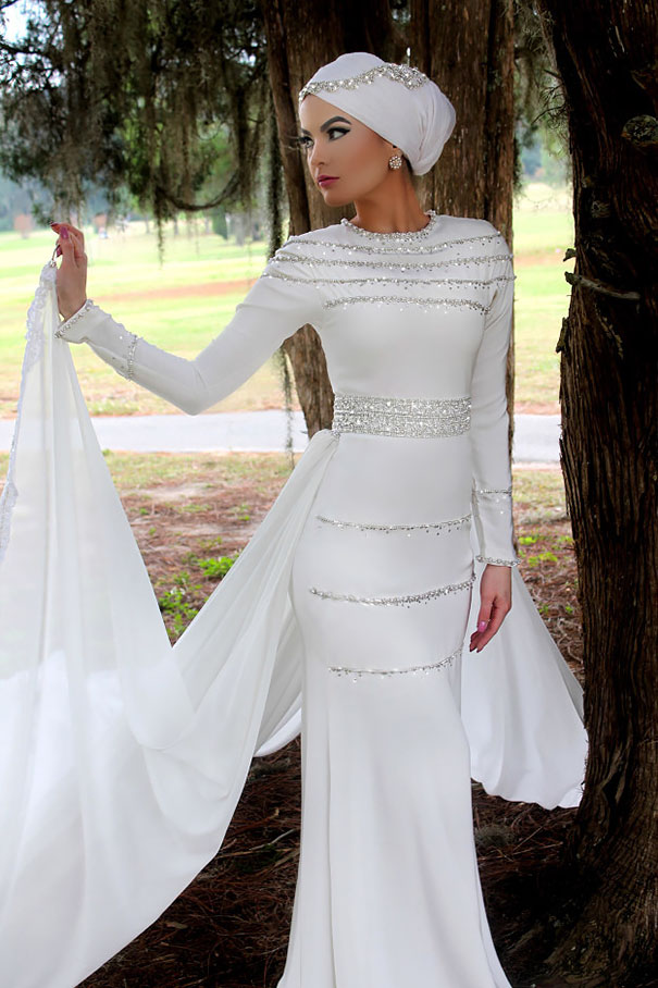 10 traditional islamic hijab wedding dresses junglespirit Image collections