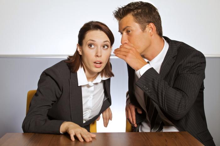 От привычки обсуждать коллег лучше избавиться. /Фото: conceptnewscentral.com