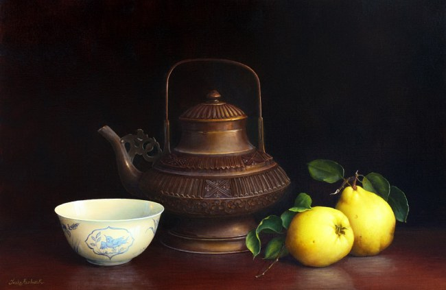 Water Kettle Bowl & Quince (650x423, 40Kb)
