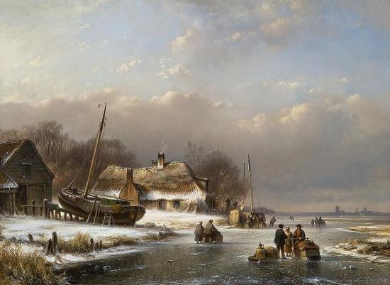 художник Лодевейк Йоханнес Клейн (Lodewijk Johannes Kleijn) картины – 04