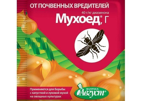 Травить вредителей можно гранулами «Мухоед»
