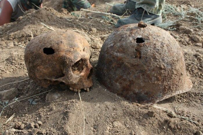 Очень важная часть любой археологической миссии.