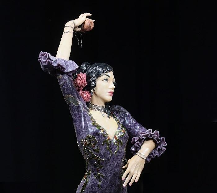 Проект «Коррида». «Танцовщица». Изготовлено: Камнерезная мастерская Алексея Антонова.