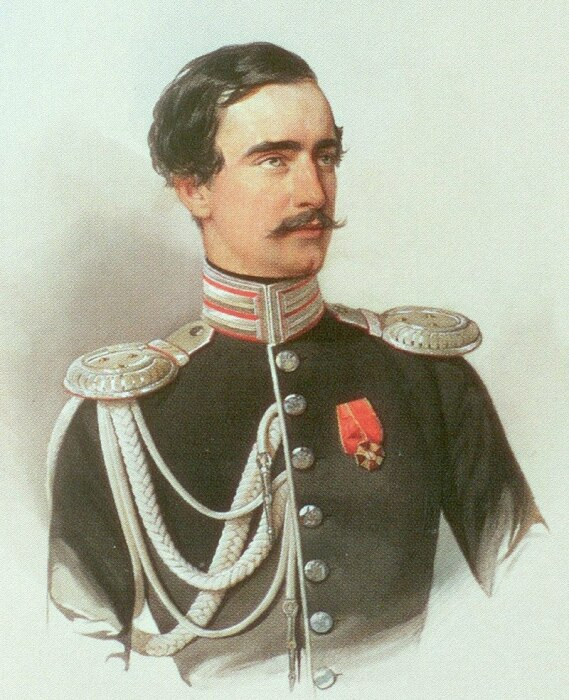 Акварель В. И. Гау. Григорий Строганов. / Фото: www.wikipedia.org