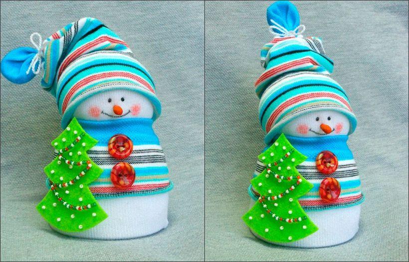 помощи как сделать из носка снеговика фото крупные махровые белые