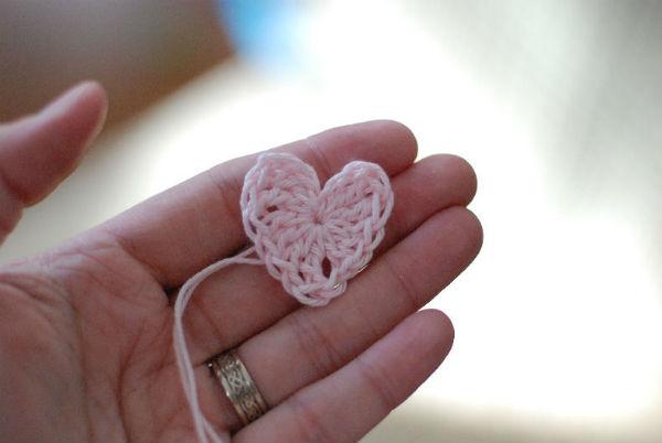 Готовое сердечко фото