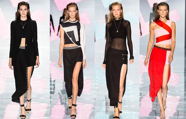 модные вырезы весна-лето 2015