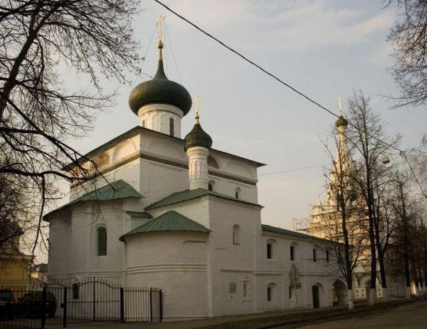 Вторая каменная церковь Ярославля