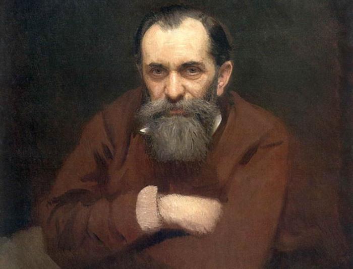 И. Крамской. Портрет В. Перова, 1881   Фото: mmsk.ru