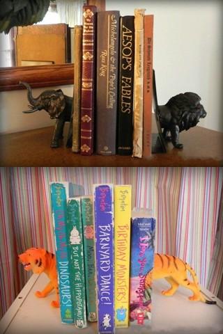 игрушки держатели книг