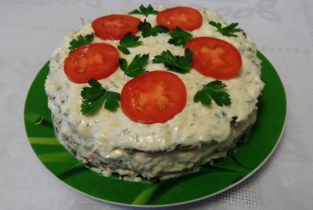 Овощной закусочный торт