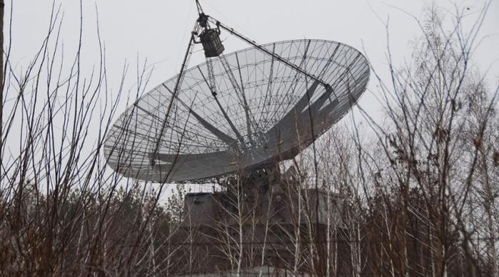 Советская станция изучения ноосферы.