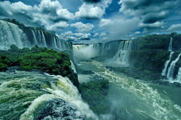 Водопады Игуасу, Аргентина/Бразилия