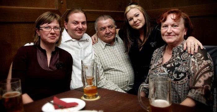 Немецкая традиция собираться у родителей
