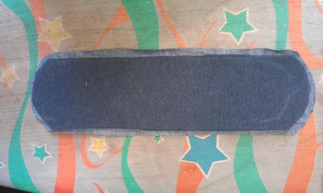 Модная сумка из старых джинсов, фото № 10
