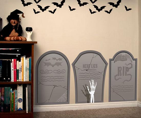 Настенные украшения для Хэллоуина