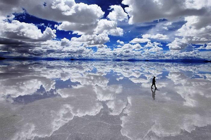 Салар-де-Уюни, Боливия