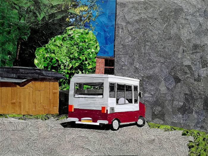 Фургончик с мороженым. Автор: Albin Talik.
