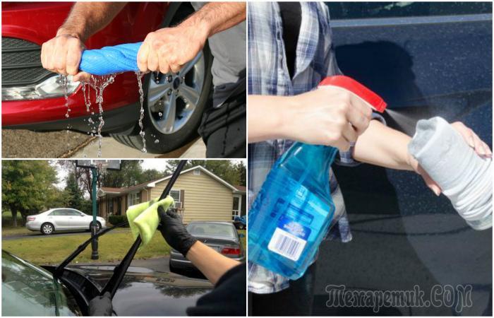 Как быстро отмыть и почистить машину