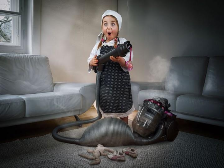 Когда ПАПА фотохудожник фото, картинки, дети, семья, папа