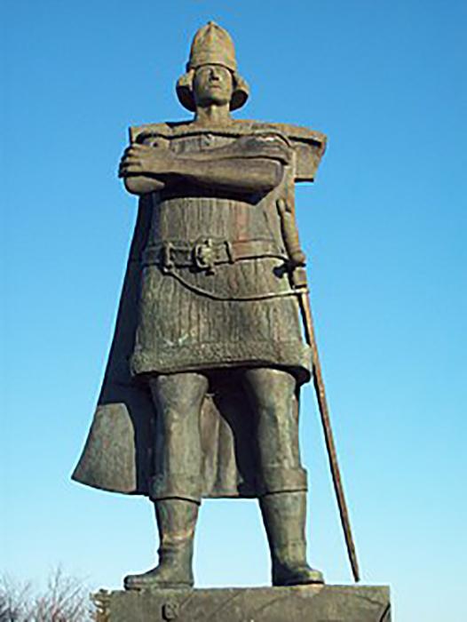 Памятник Гаспару Корте-Реаль.