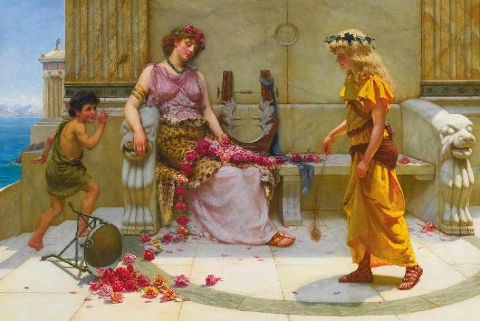 Девочка в древнеримском доме с настолько светлыми волосами почти неизбежно была невольницей.