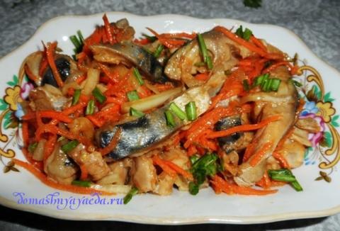 как приготовить хе из рыбы по корейски