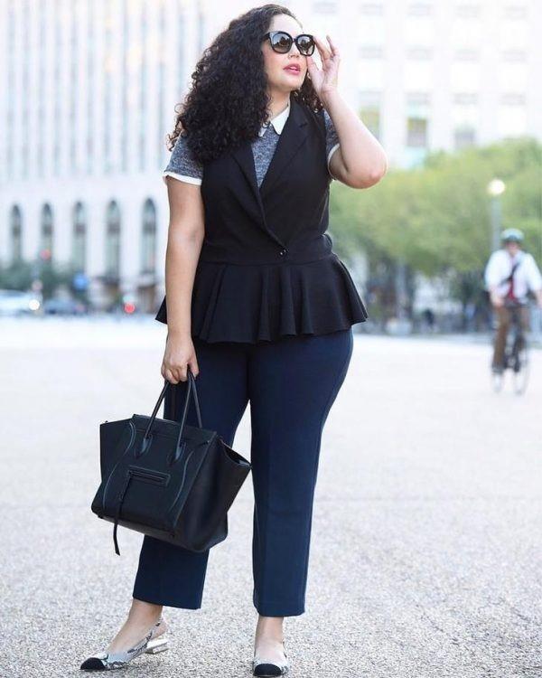Мода для полных женщин на весну 2020
