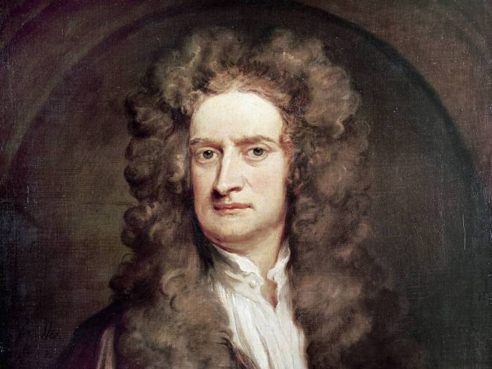 Исаак Ньютон - выдающийся английский ученый.   Фото:allday.com.