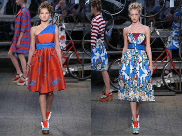 Модные коктейльные платья весна-лето 2015