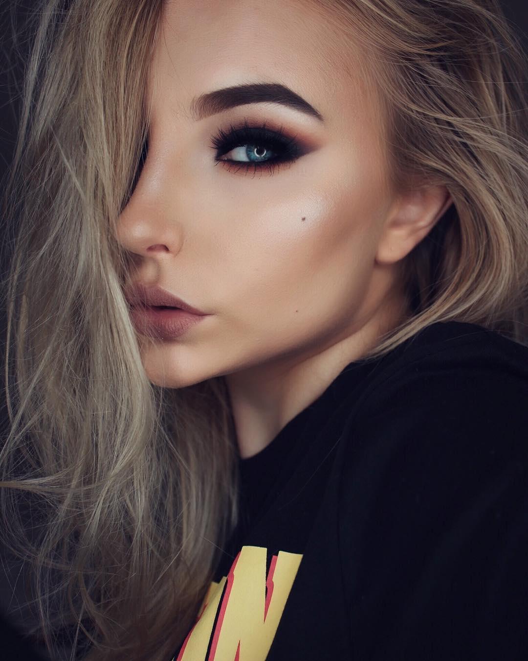 34 неотразимые идеи макияжа для встречи Нового года 2019 картинки
