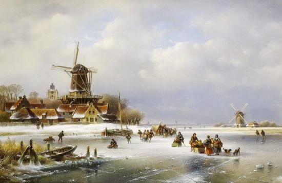 художник Лодевейк Йоханнес Клейн (Lodewijk Johannes Kleijn) картины – 05