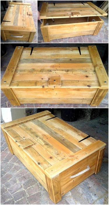 Сегодня мебель из деревянных поддонов получает всё большее и большее распространение.