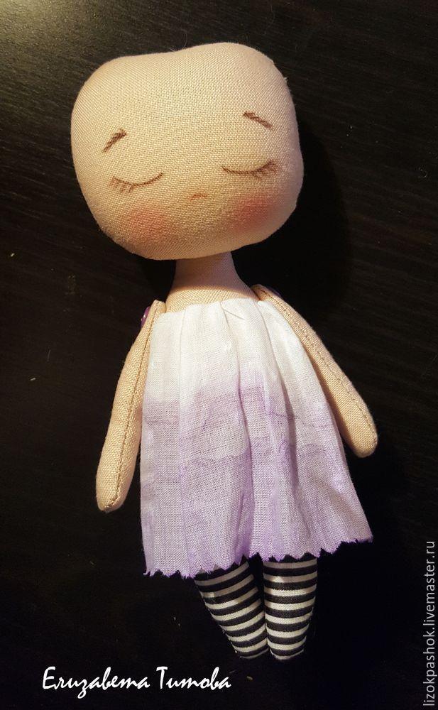 Шьем куколку «лавандовый мотылек» из обрезков ткани, фото № 10