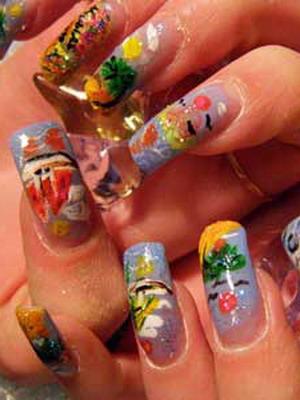Модные ногти весна-лето 2016 тренды 46 фото новинок