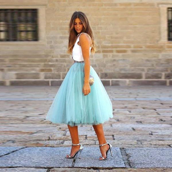 Как сшить юбку-пачку из шифона своими руками?