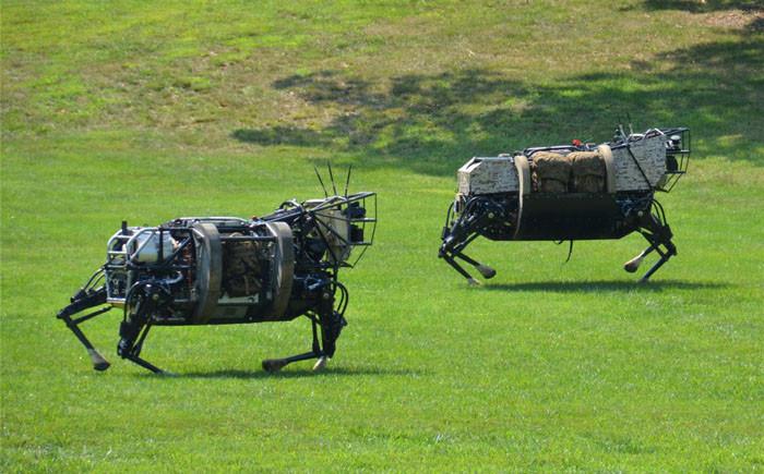 Животные-роботы новое, оружие, секретное