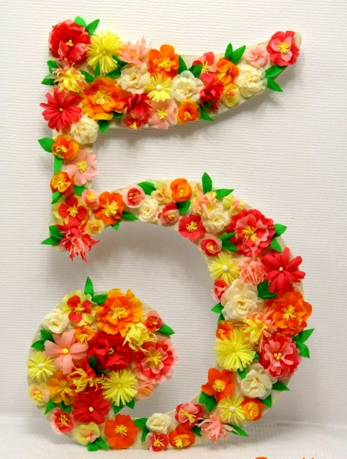 Цветочная цифра