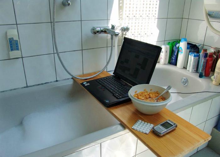 Температурный режим при работе с ноутбуком.