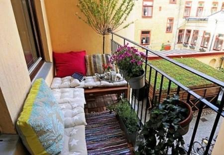 16 очаровательных сезонных идей для сада на балконе фото 14
