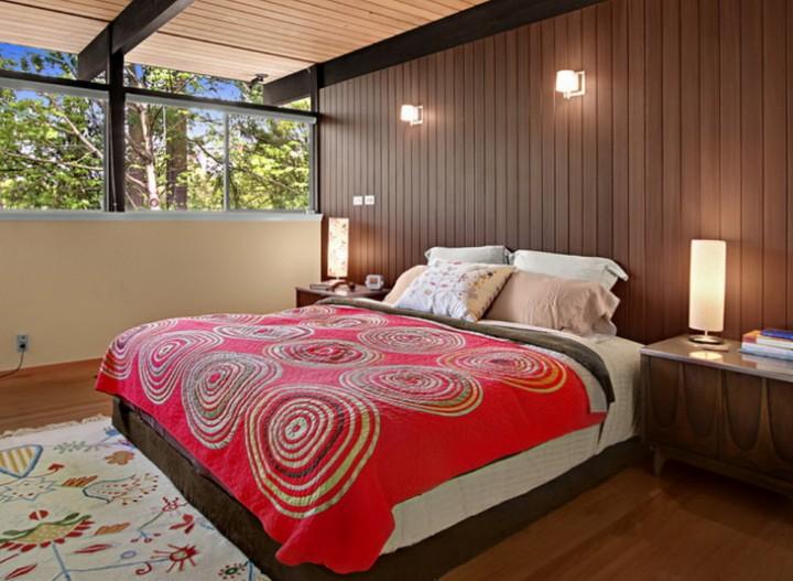 Осенние краски в спальне