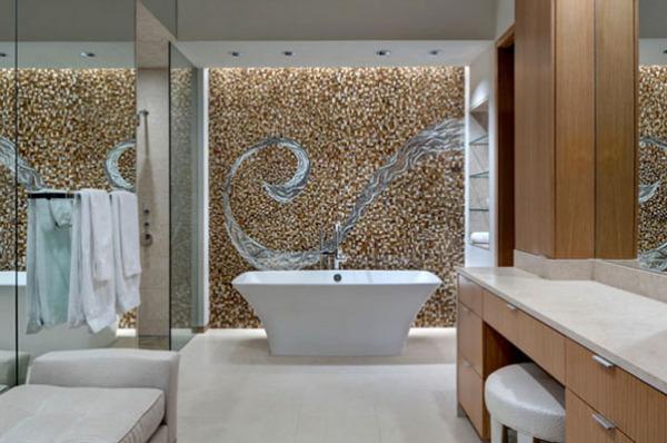 Мозаичная стена от Bernbaum Magadini Architects