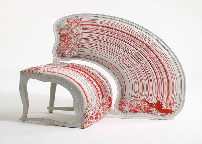 Если хотите озадачить гостей, предложите им такой стул.