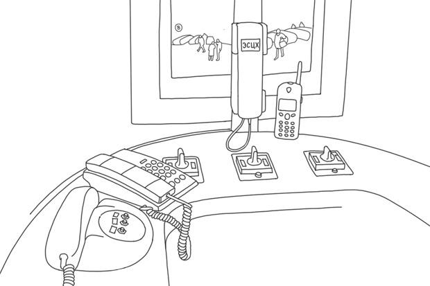 Как всё устроено: Дежурная уэскалатора. Изображение №1.