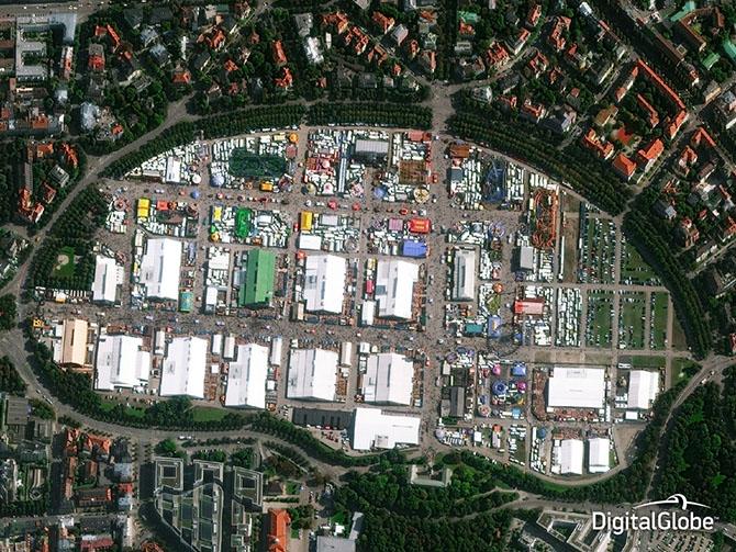 Лучшие спутниковые фотографии 2014 года от DigitalGlobe
