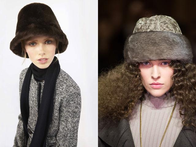 Модные меховые шапки осень-зима 2016-2017